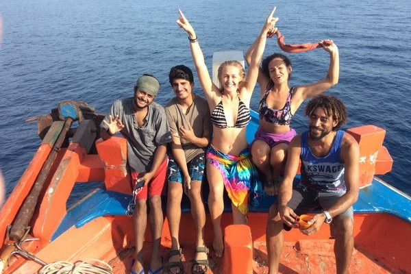 Jenni & the Dive-Careers Trainees