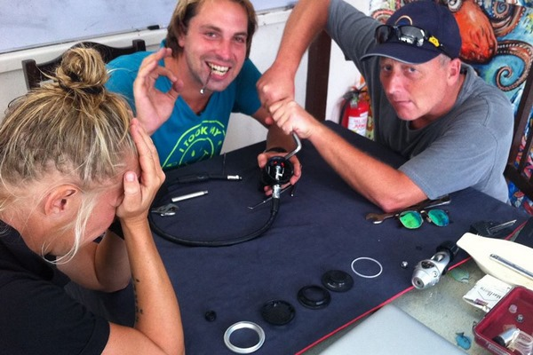Teaching the PADI IDC